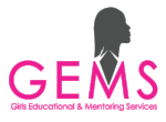 Girls Educational and Mentoring Services' (GEMS)  mission is to empower girls and young women, ages 12–24, who have experienced commercial sexual exploitation and domestic trafficking to exit the commercial sex industry and develop to their full potential.