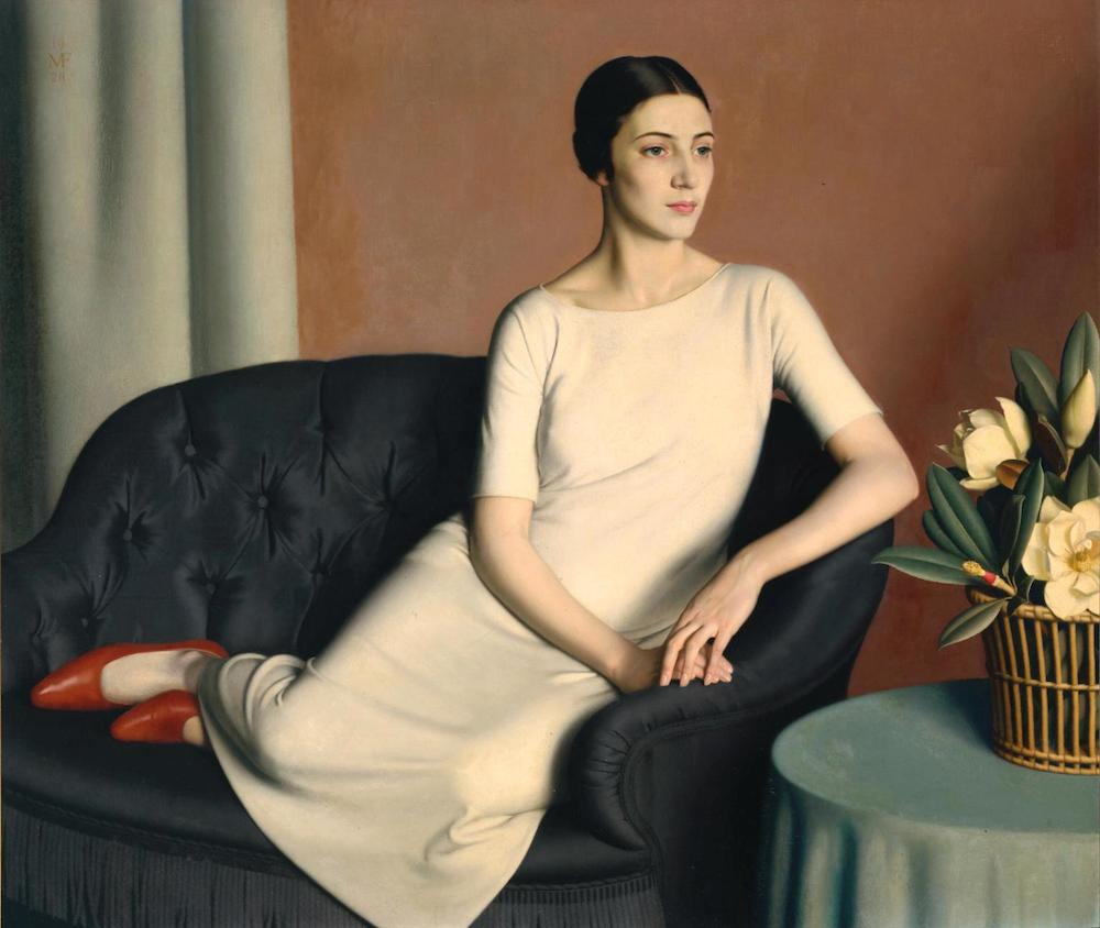 Marguerite Kelsey 1928 by Meredith Frampton