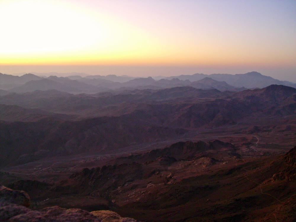Mt. Sinai Peak, Egypt, Summer 2011, Approximately 6:00am