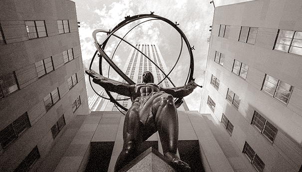 "Atlas, Rockefeller Center, New York - Picture found: "" A Book That Changes Lives """