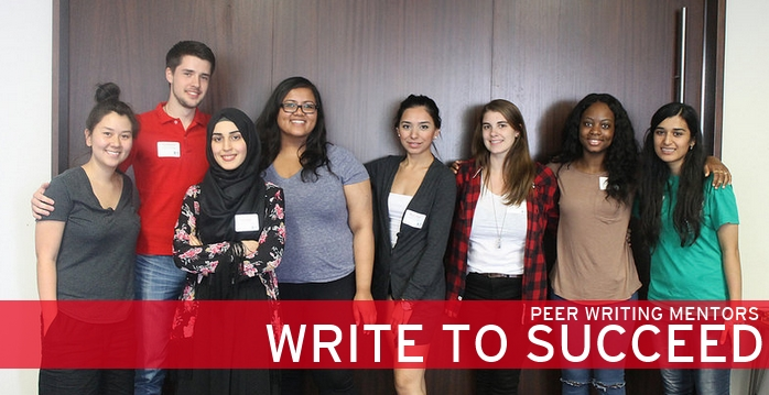 Write to Succeed peer writing mentor training day in August of 2014