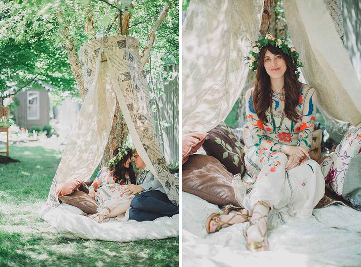 The Bride & Groom's Teepee