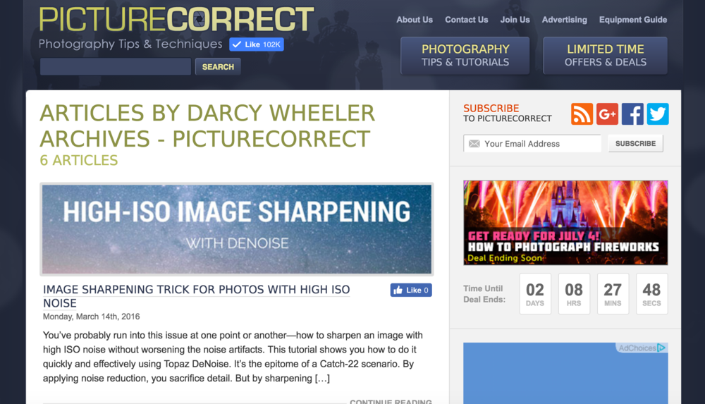 Author archives - PictureCorrect.com