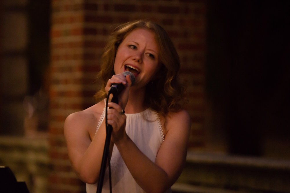 Singing at the Museum of the City of New York July 19, 2018