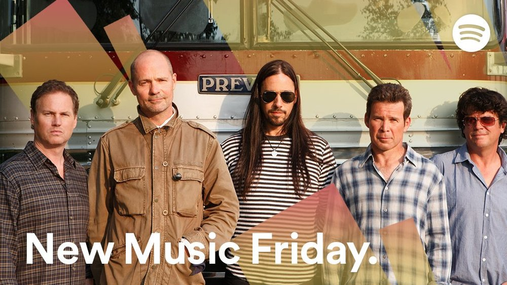 The Tragically Hip x Spotify (Twitter)  Canadian icons  @thehipdotcom  return with  #ManMachinePoem .  #NewMusicFriday