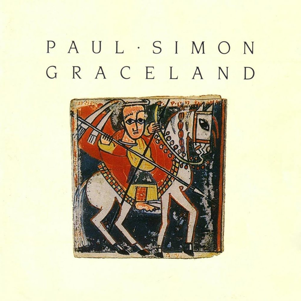 Paul Simon x Spotify   30 years ago, Paul Simon r  eleased his 7th studio album, Graceland, which broke cultural and musical barriers. With its South African inspiration, it changed opinions on world music and brought people together. Today, we celebrate his genius.