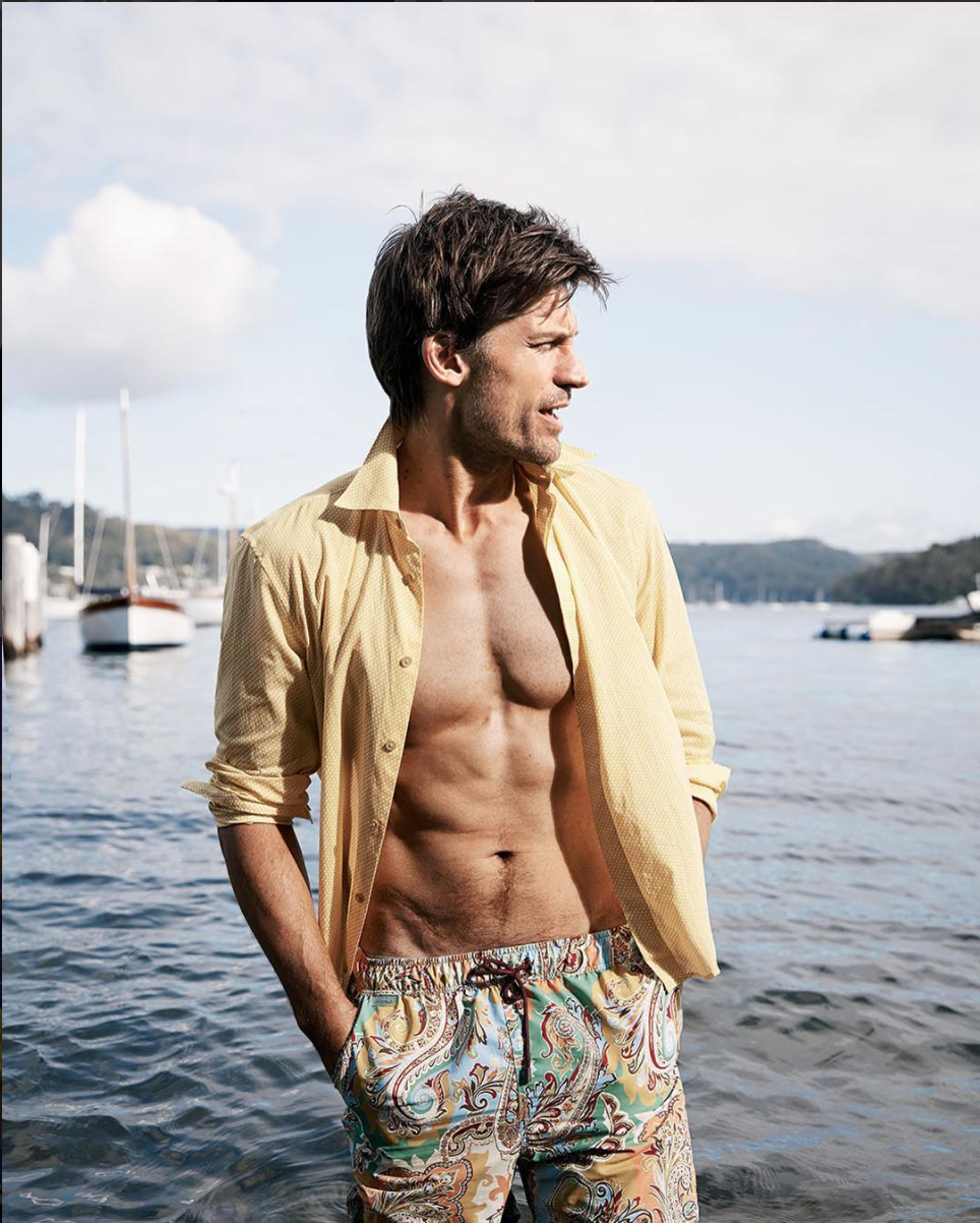 Travel Tuesday Our advice to vacationing during the holidays? A bright pair of @etro swim shorts. These can take you from lounging on the beach to relaxing in the ocean.