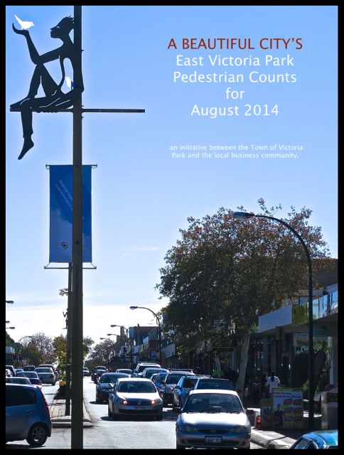 East Victoria Park pedestrian data