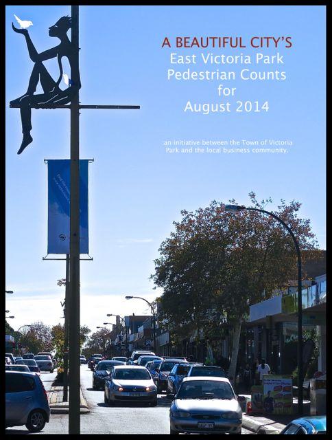 East Victoria Park pedestrian data