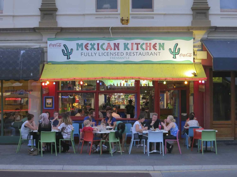 Mexican Kitchen, South Terrace, Fremantle, Australia.