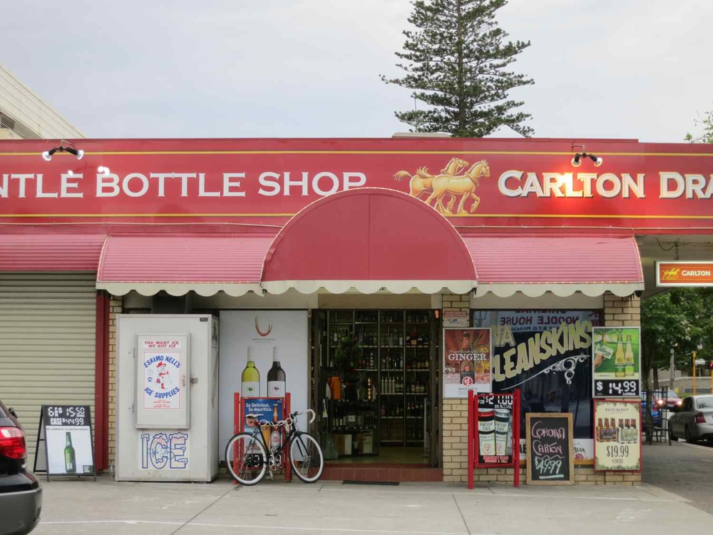 Fremantle Bottle Shop, 152 High Street East, Fremantle, Australia.