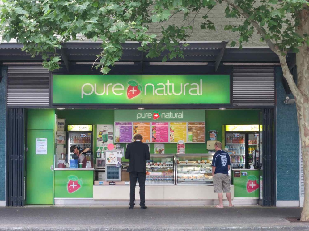 Pure + Natural, 27 Queen Street, Fremantle, Australia (now Westpac bank).