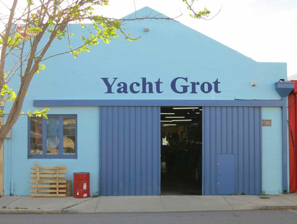 Yacht Grot, 25 Quarry Street, Fremantle, Australia (next to A Beautiful City offices).
