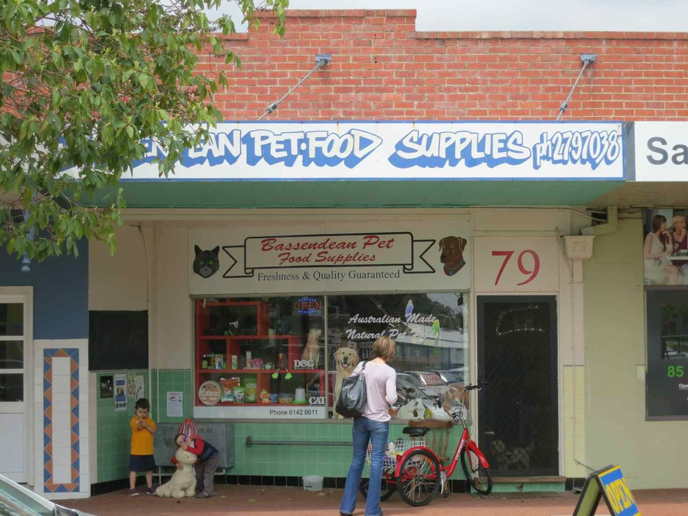 Bassendean Pet Food Supplies, 79 Old Perth Road, Bassendean, Australia.