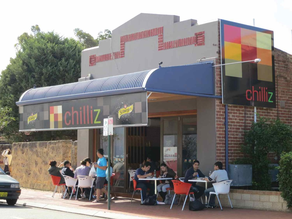 Chilliz, 38 Broadway, Crawley, Australia.
