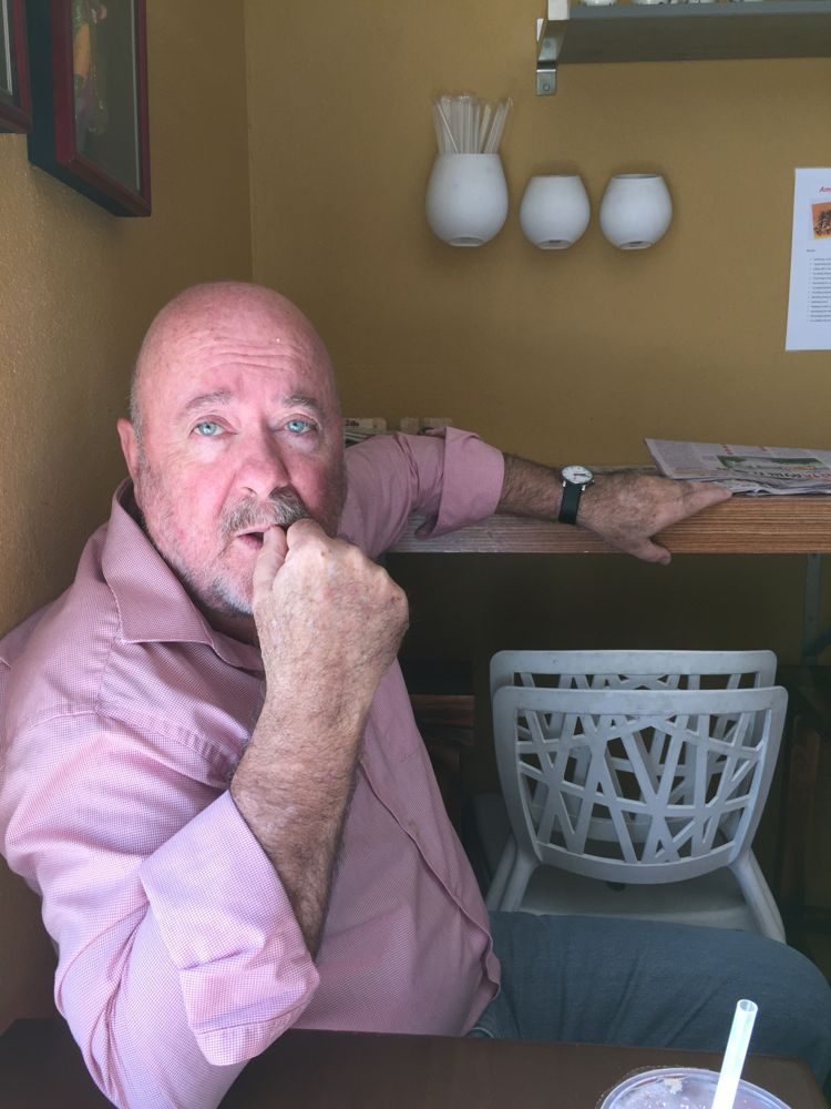 """The inimitable Marshall Martin. """" What I want is more good businesses around me."""""""