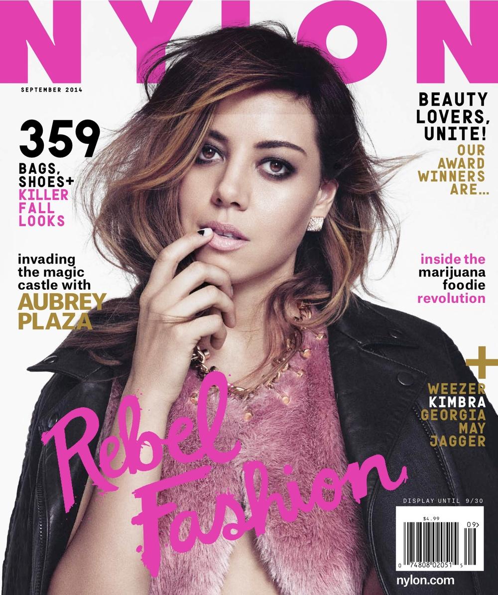 Nylon Magazine September 2014 Jade Taylor