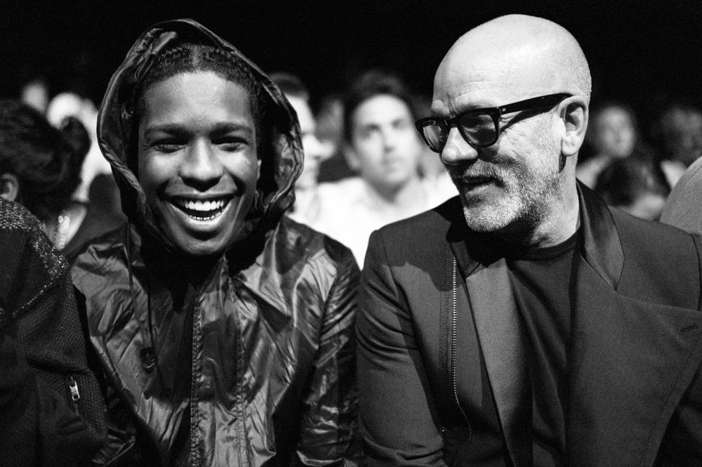 A$AP Rocky & Michael Stipe