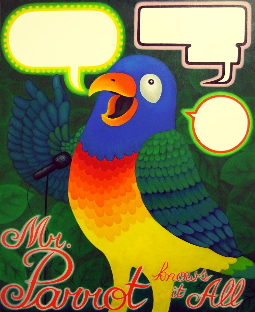 Mr. Parrot Knows it All 無所不知的鸚鵡先生