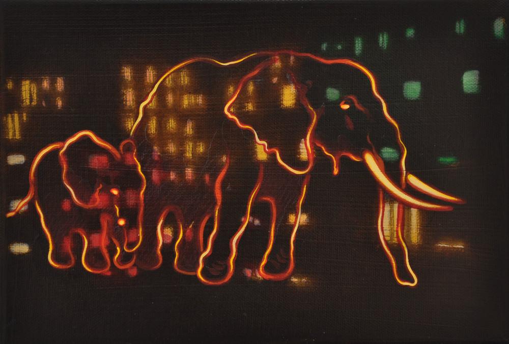 Nomad Series - Elephant Spirits