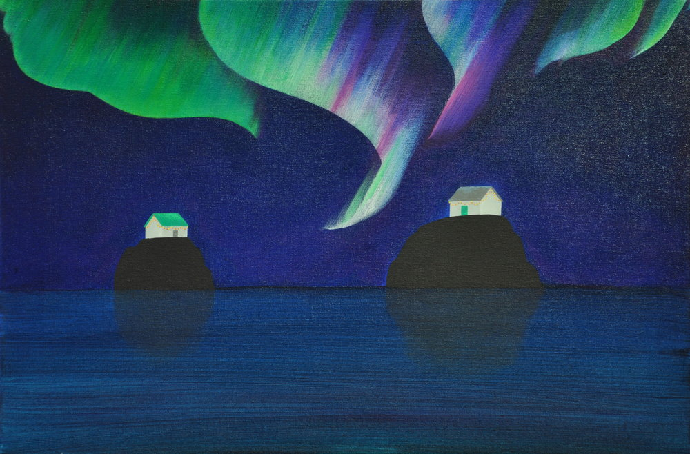 Islands Facing (Night)