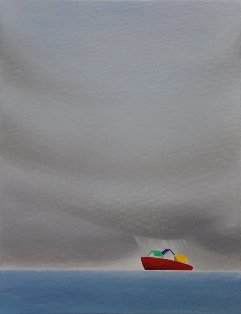 Ship in the Rain