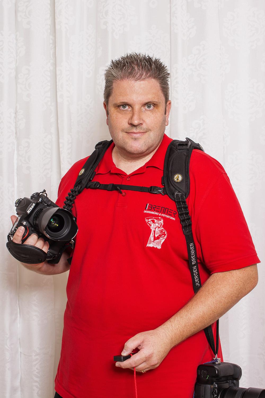 Jürgen Brenner, Juni 2016 - Selbstportrait mit der Fotobooth