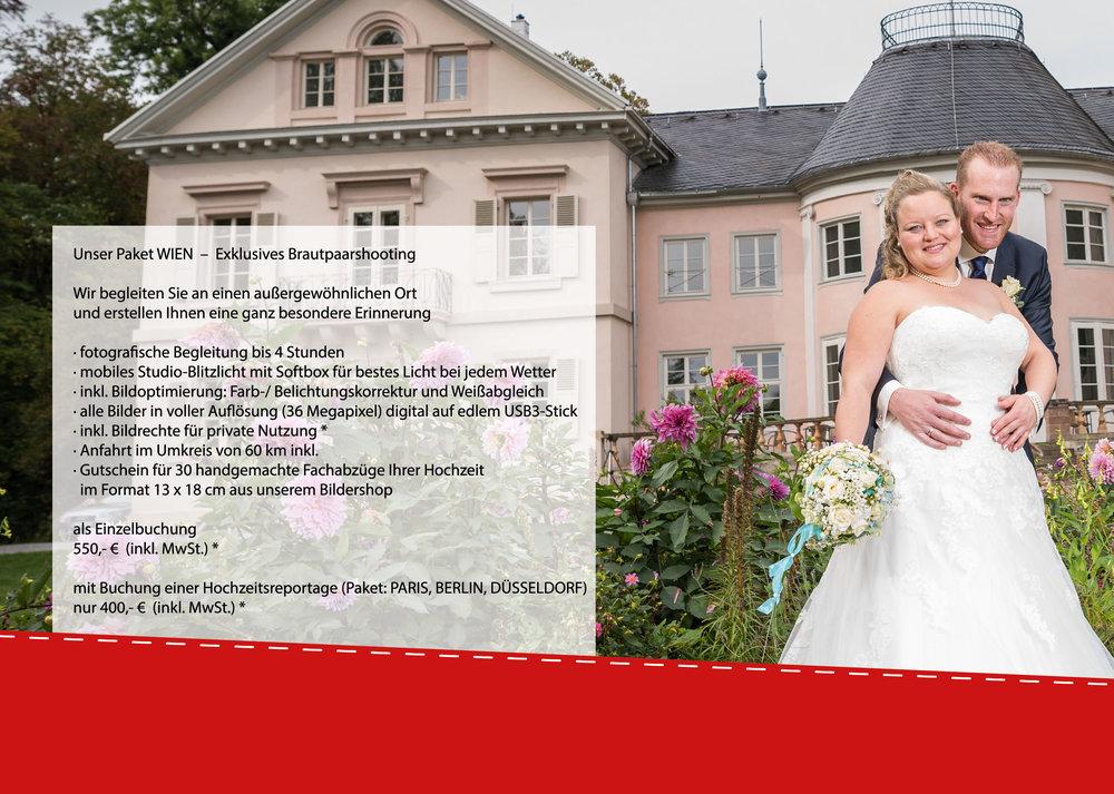 WIEN - Exklusives Brautpaarshooting