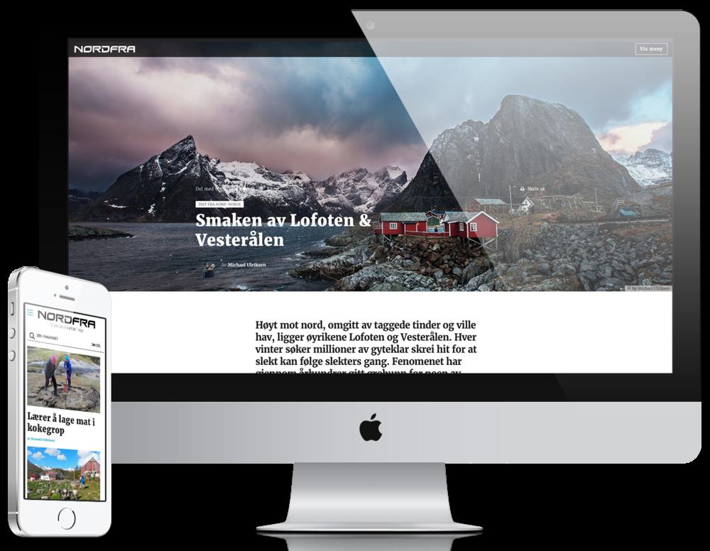 Les vårt magasin Nordfra.no - For alle som elsker nord-norge