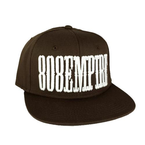 """Country"" Brown 3D Snapback                         $36.00"