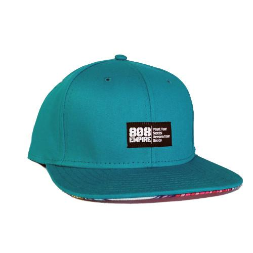 """Swavy"" TEAL Woven Snapback $36.00"