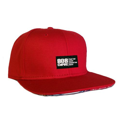 """Swavy"" RED Woven Snapback $36.00"