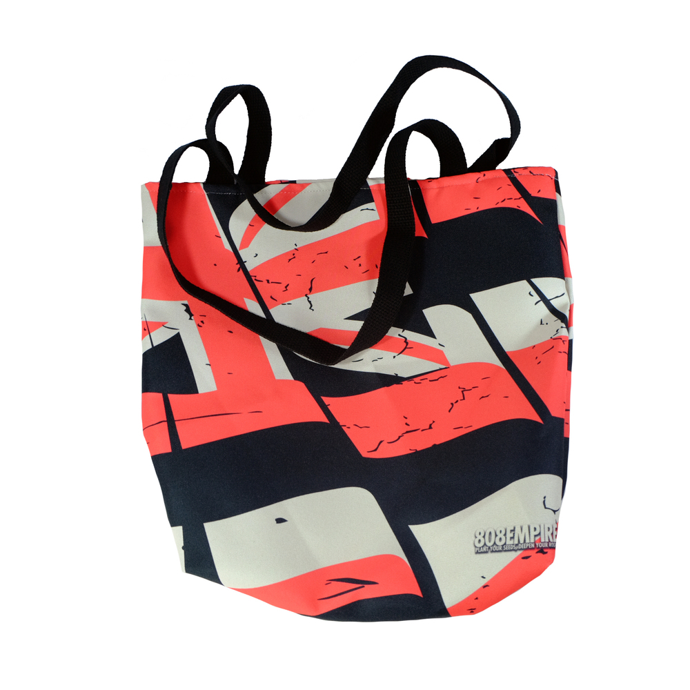 """Red Torn Flag"" Tote Bag               $30.00"