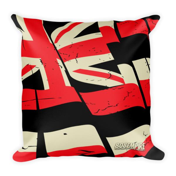 """Red Torn Flag"" Pillow $32.00"