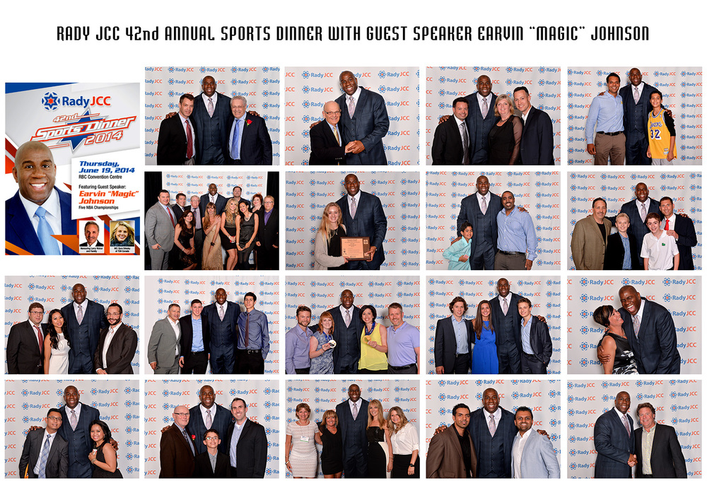 SPORTS DINNER WITH MAGIC JOHNSON