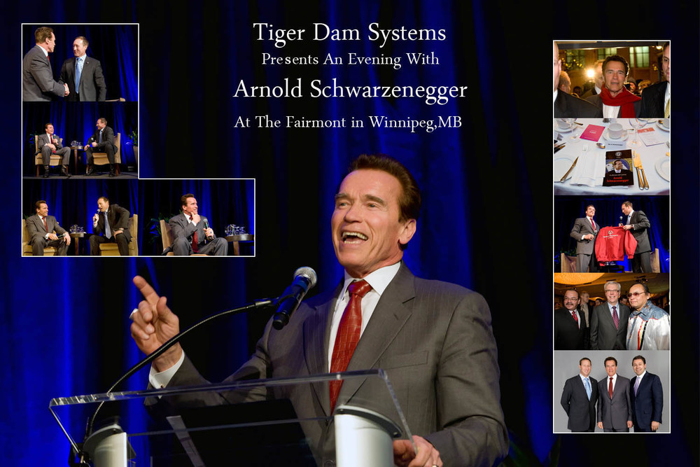 Tiger Dam Systems with Arnold Schwarzenegger