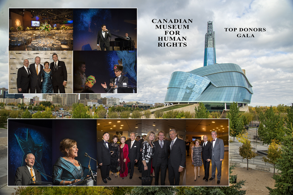 Canadian Museum for Human Rights Top Donor Gala