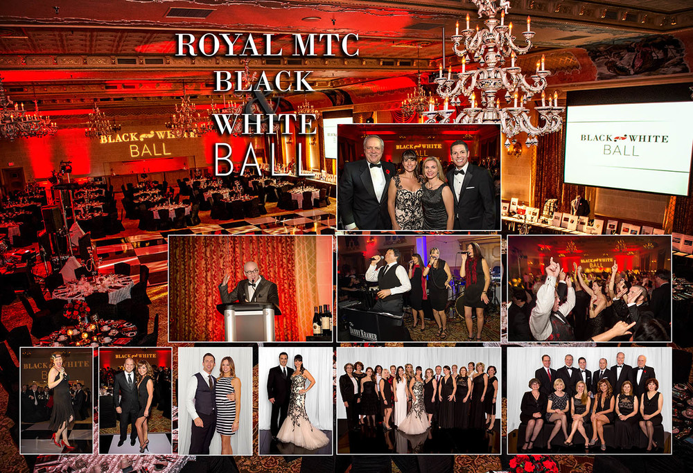 Royal MTC Black & White Ball