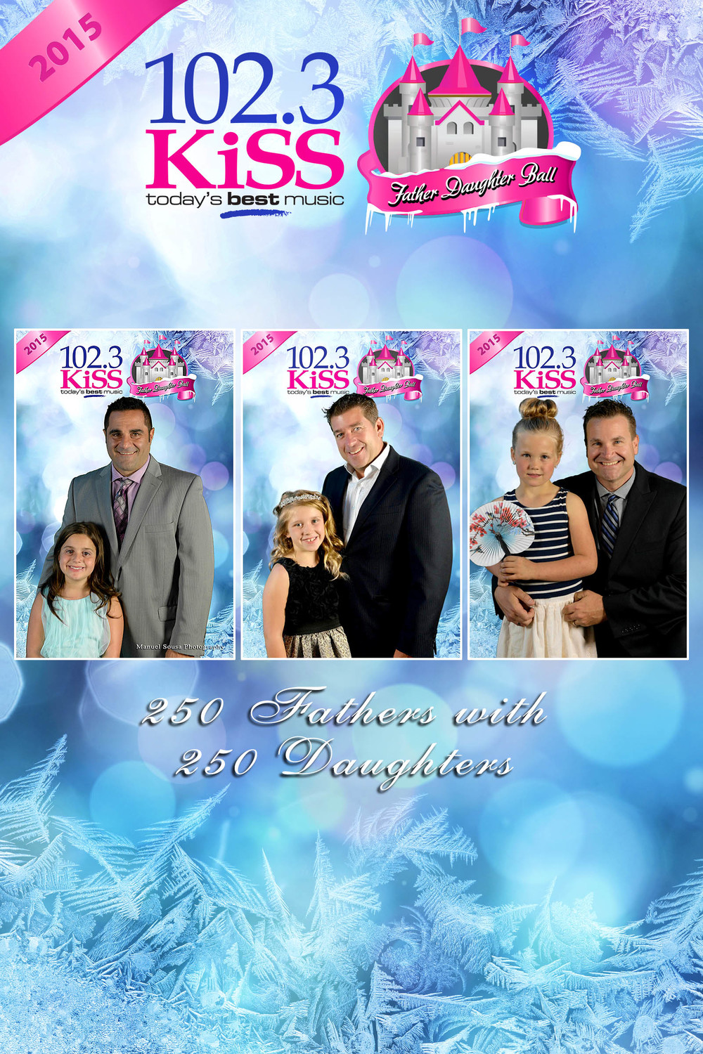 KISS 102.3 Father Daughter Ball