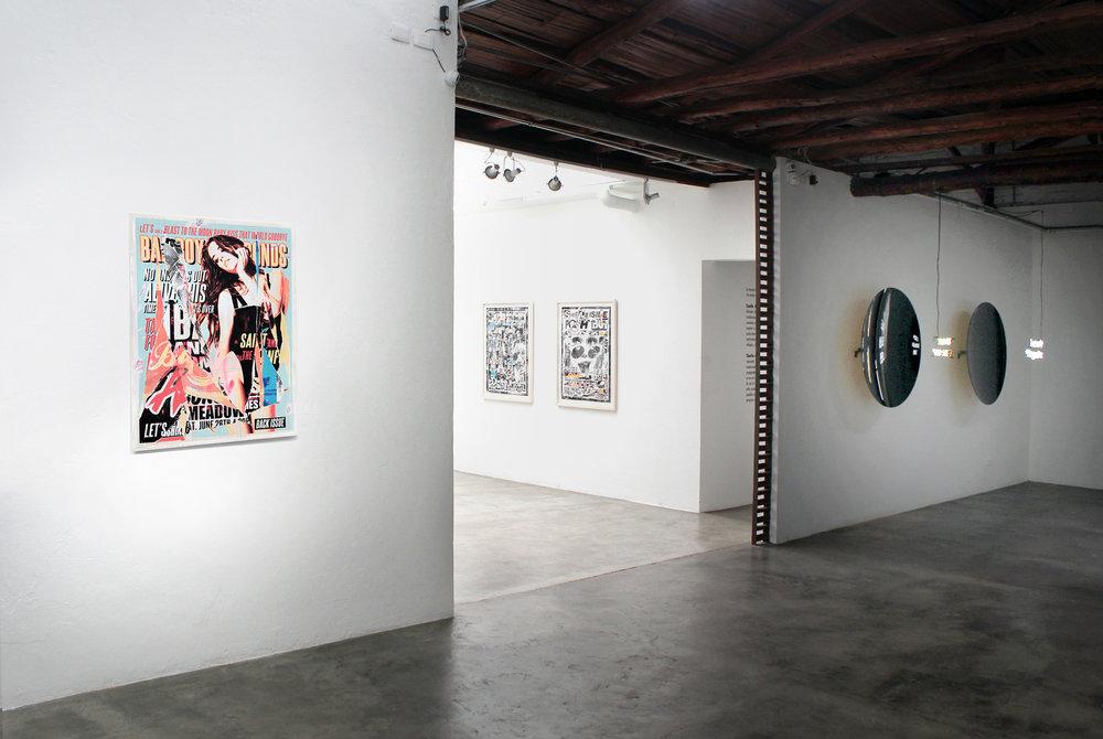 """medios sin fin"" Fabien Castanier Gallery Bogota, 2016"