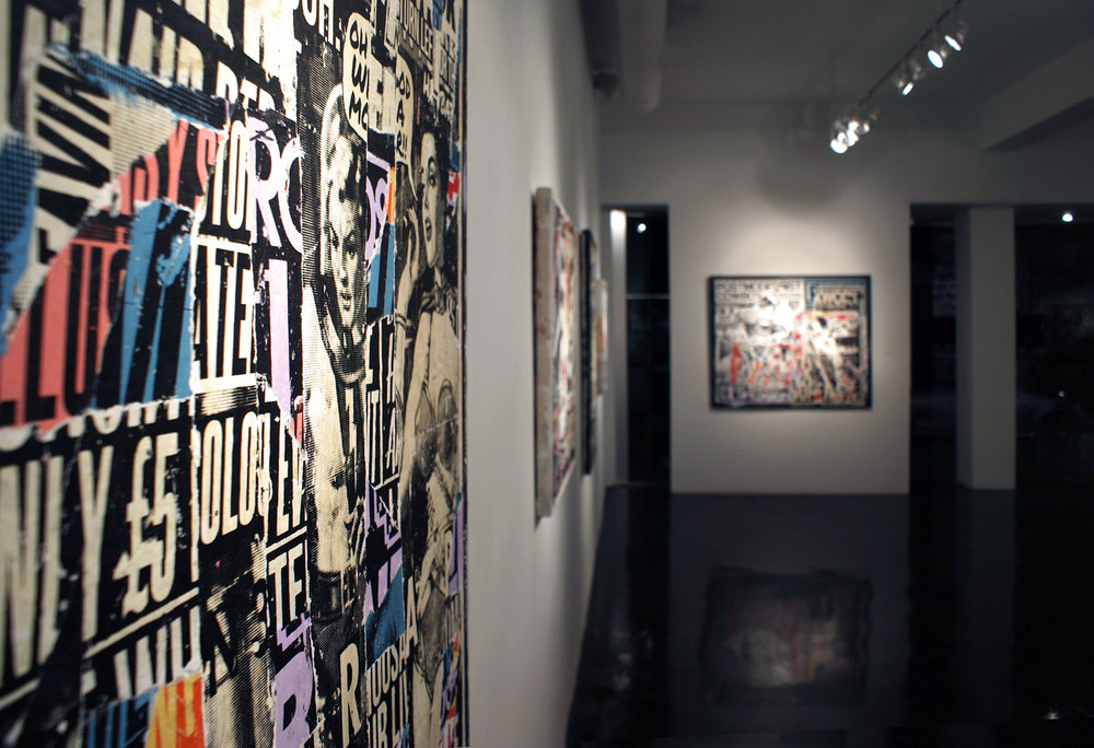 """urban exposure"" Fabien Castanier Gallery Los Angeles, 2012"