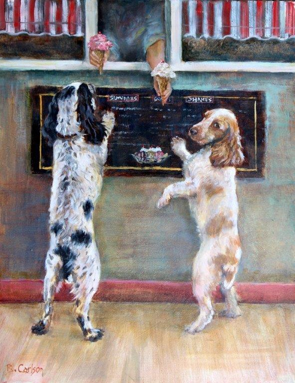 Dog & Horse Fine Art, Beth Carlson, Sprinkles Please,.jpg