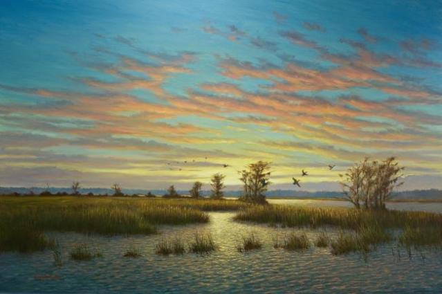 Nightfall on the Cumbahee Chris Snedeker.jpg