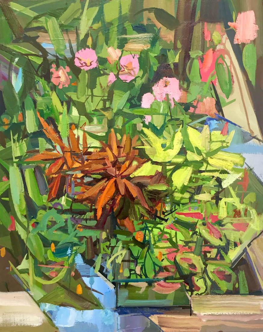 Francis Sills_Garden (III), reflected_oil on linen_20x16_2018 copy.jpg