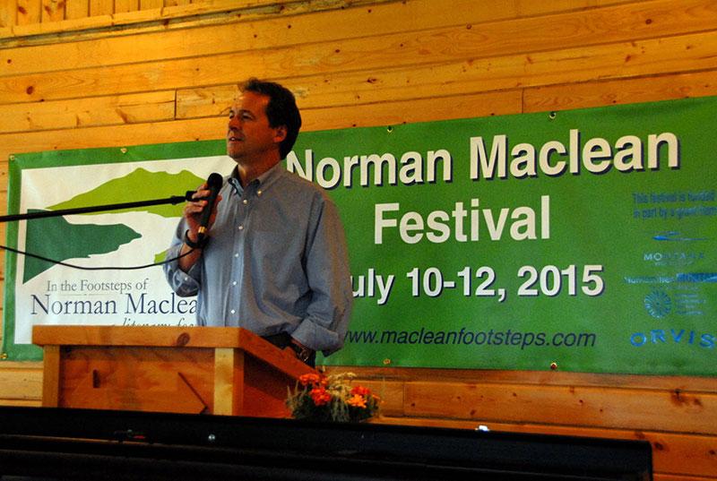 Montana Governor Steve Bullock Opens the Maclean Festival