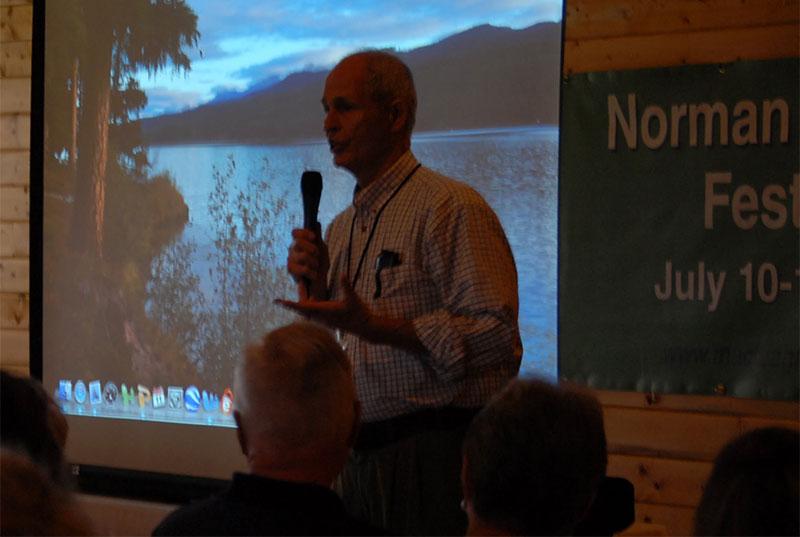 John Maclean's Saturday morning presentation