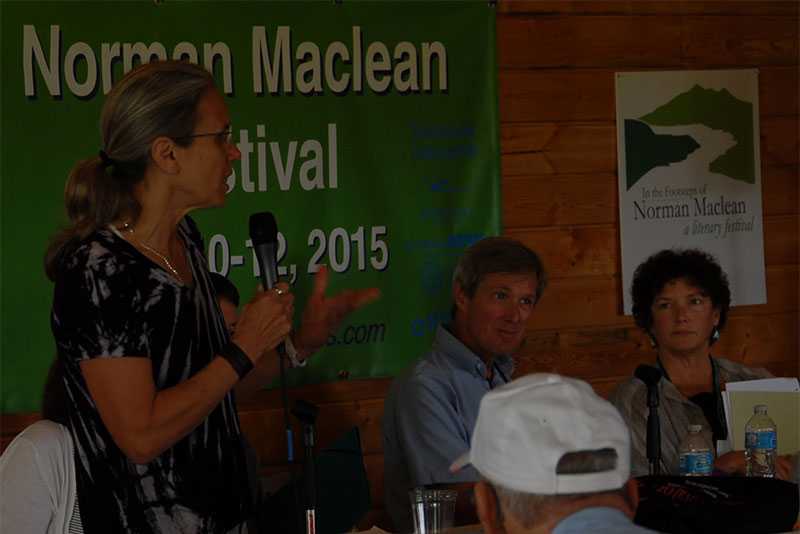Audience Q&A at Maclean Fest Panel