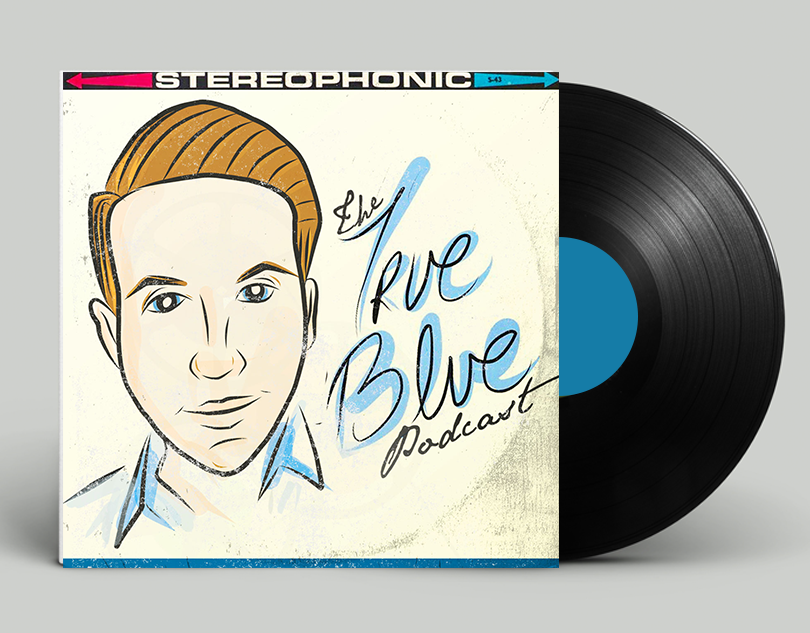 Benny Blue / Podcast Cover + Illustration