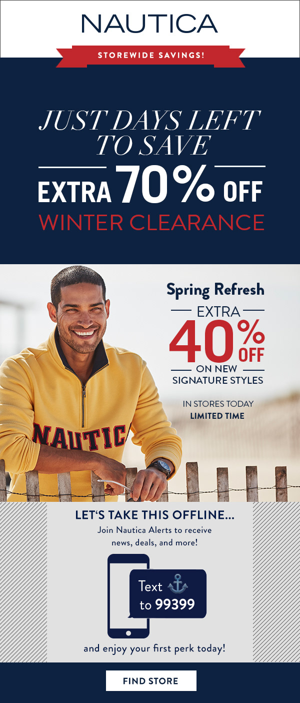Nautica / Email Marketing