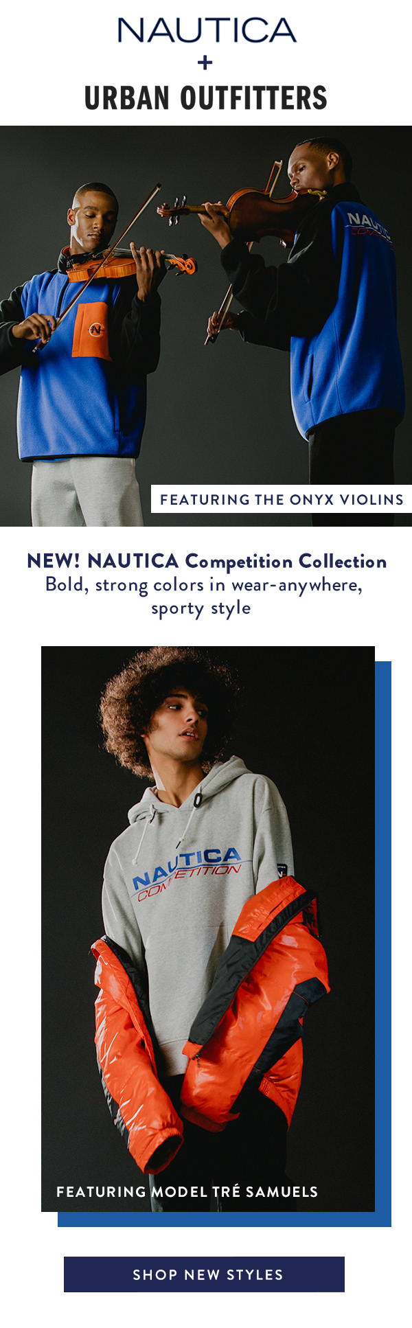 Nautica + Urban Outfitter / Email Marketing